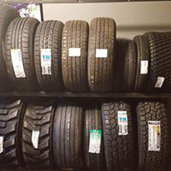 Hug In Stock Selection of New & Used Tires!