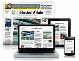 Boston newspaper subscription service home delivery and online