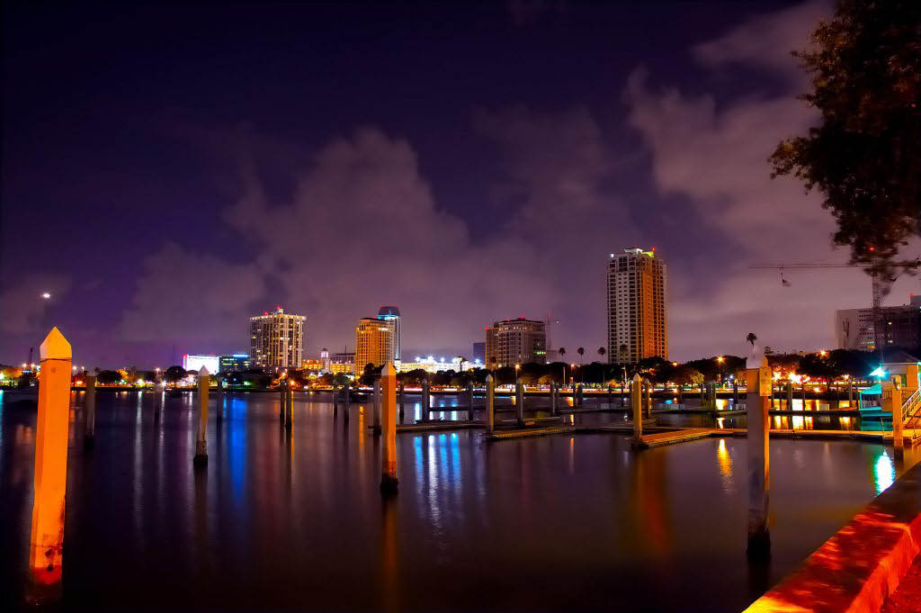 Tampa Bay, FL city life; real estate brokers