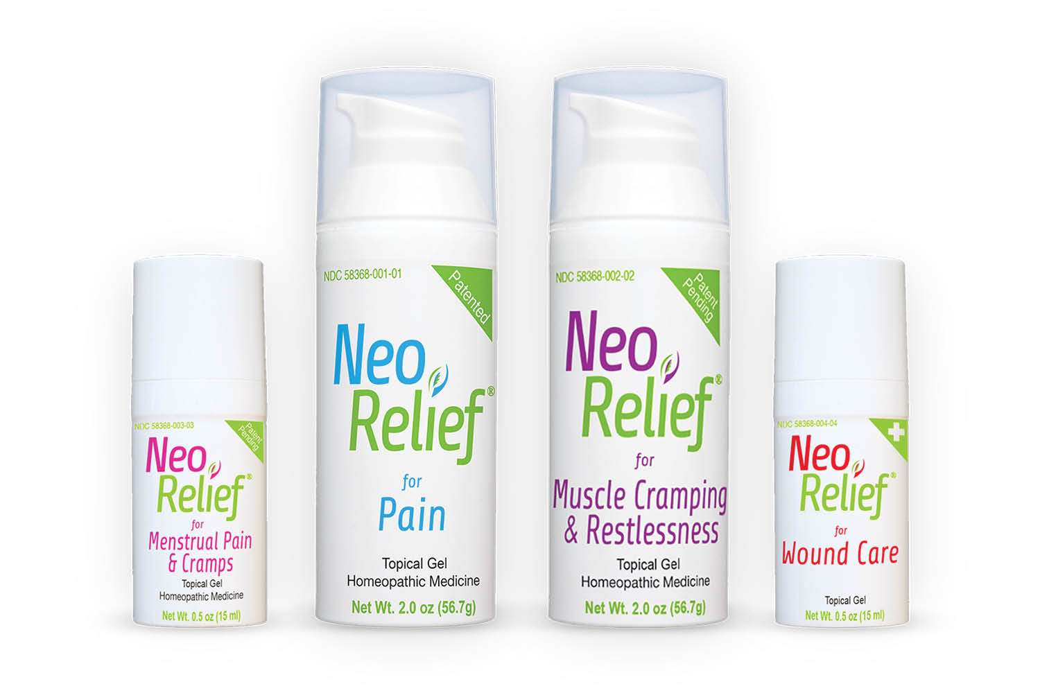 Pain is a way of life.  Muscle pain, headaches, cuts, bruises, abrasions, menstrual, rashes.  Everyone lives with pain and seeks many forms of remedies. BioLyte focuses on relieving pain with three natural products. NeoRelief - WoundEze - Period Relief.