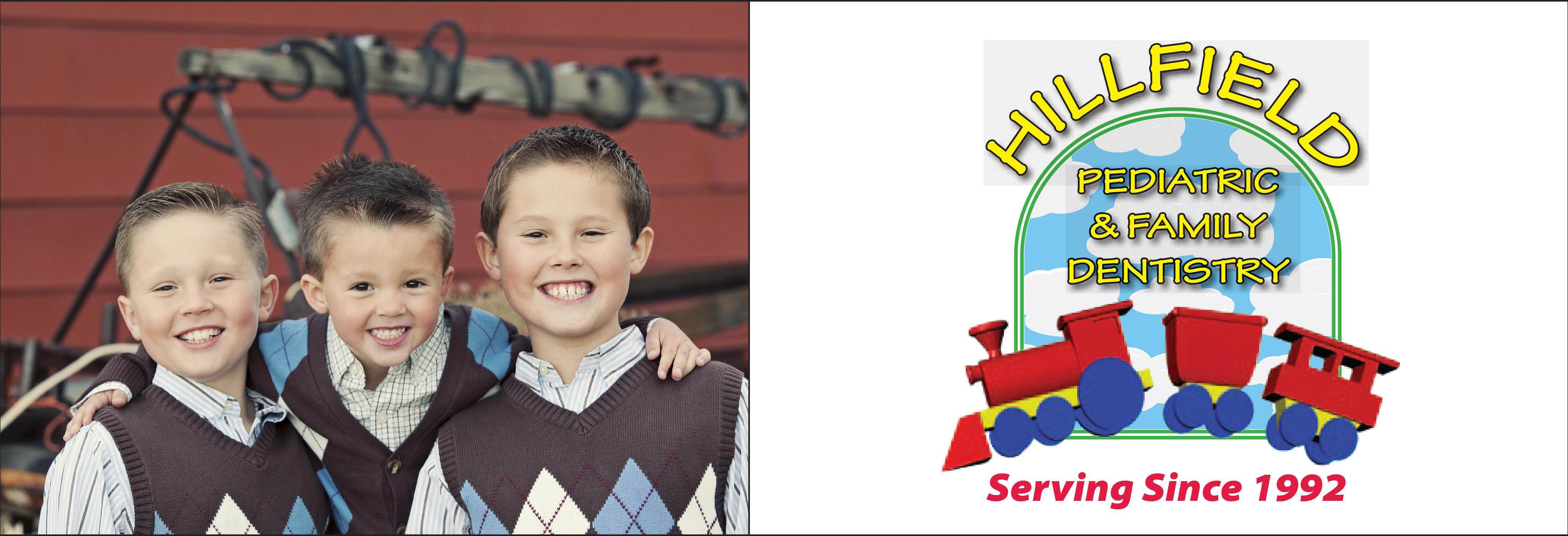 Hillfield Pediatric & Family Dentistry banner in Layton, Utah
