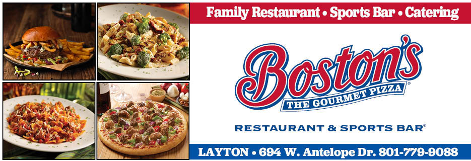 Boston's Family Restaurant - Sports Bar- Catering - Gourmet Pizza