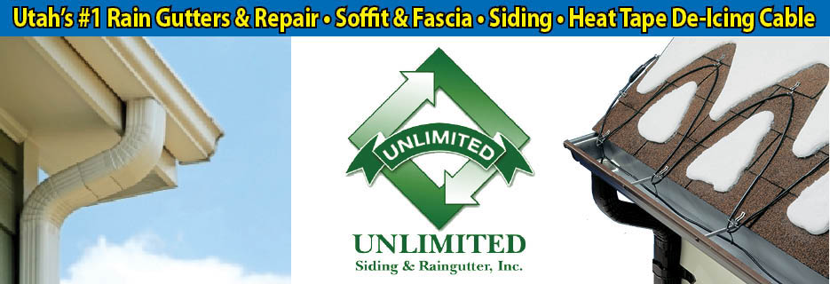 Unlimited Siding & Rain Gutter - Repair, Soffit & Fascia - Siding - Heat Tape De-Icing Cable