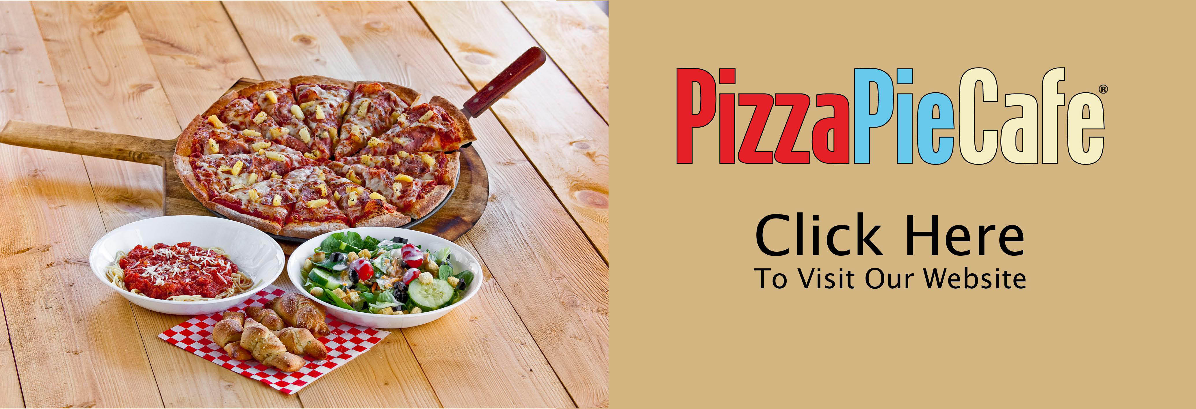 Pizza Pie Cafe Banner