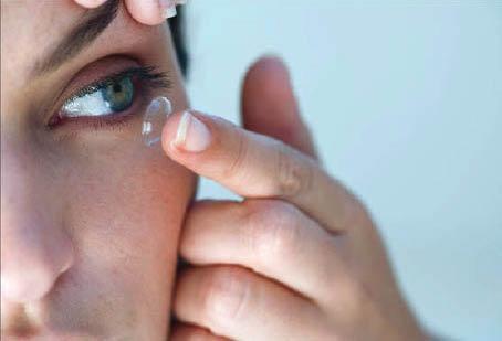 Contact lenses, eye care