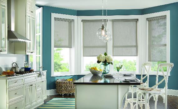 budget blinds kitchen window treatments