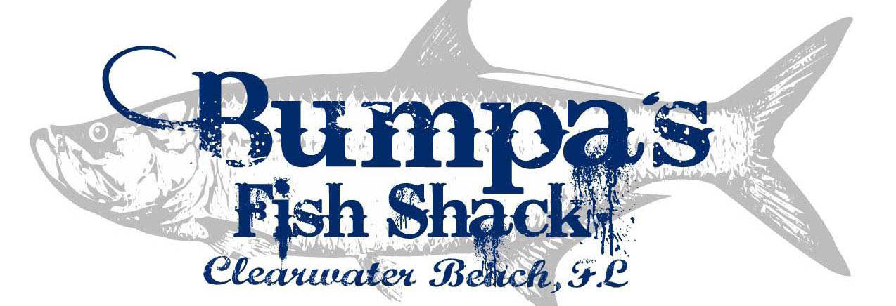 BUMPA'S FISH SHACK SEAFOOD HOUSE CLEARWATER BEACH BANNER