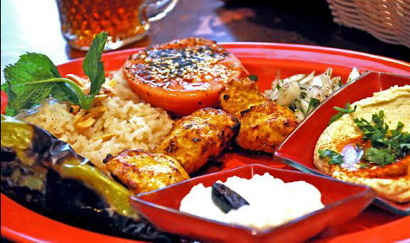 Lebanese and Mediterranean grill foods
