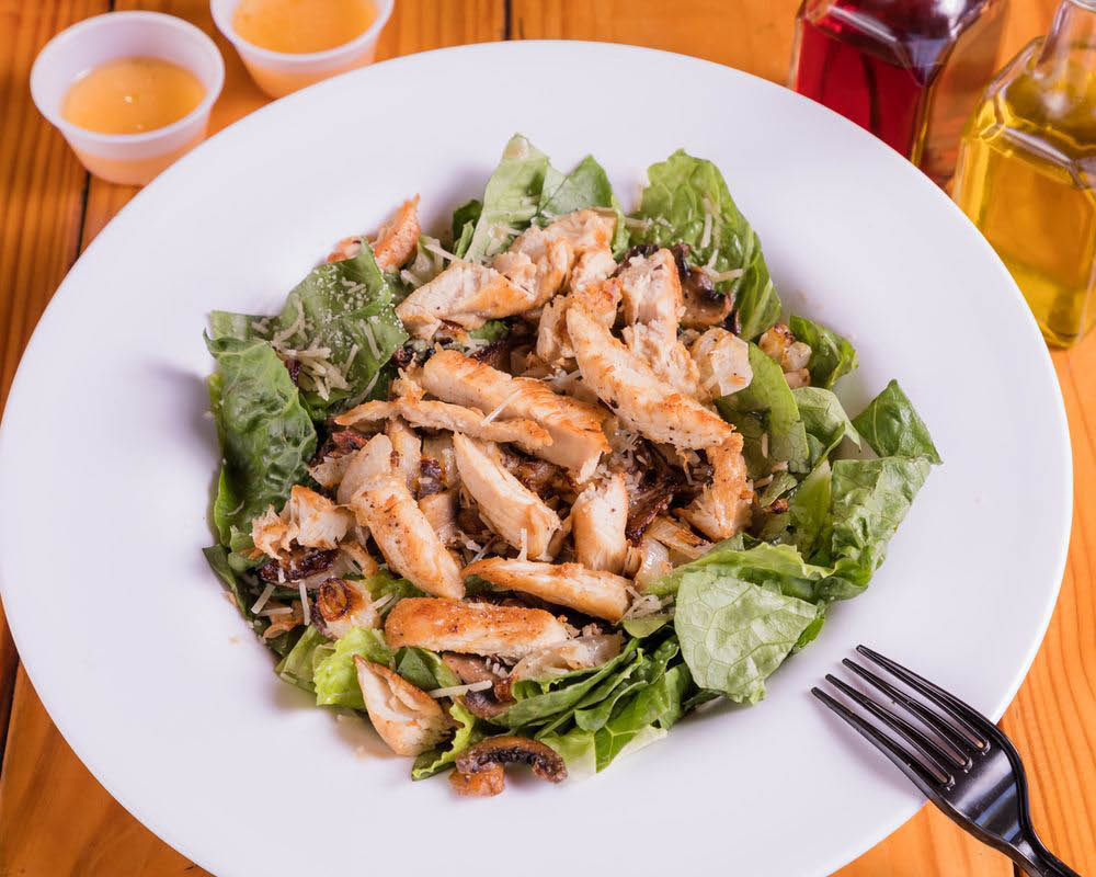 Babe's Old Fashioned Food Babe's Grilled Chicken Salad