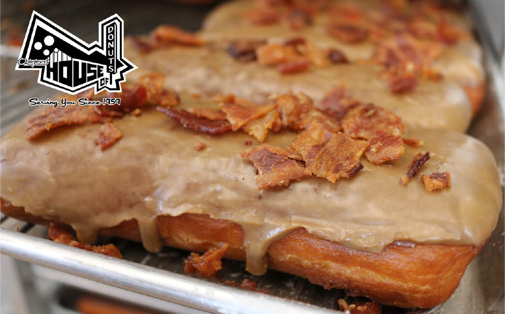 Original House of Donuts - Lakewood, WA - Tacoma, WA - Our famous cake donuts and bacon maple bars come from our traditional recipe