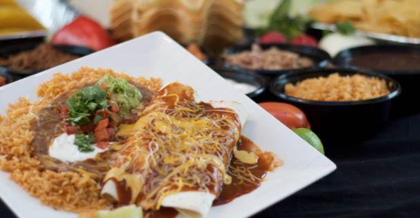 Baja Taco Mexican restaurants - West Seattle - wet burrito - West Seattle Mexican restaurants