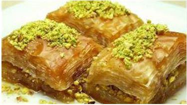 Cheesecake, Baklava