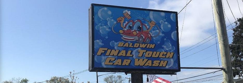baldwin final touch car wash & detailing banner baldwin, ny