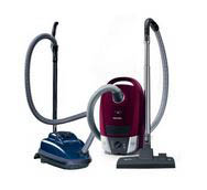 photo of canister vacuum cleaners from Bank's Vacuum stores