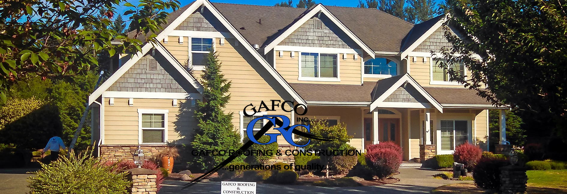 Gafco Roofing & Construction in Bonney Lake, WA banner image