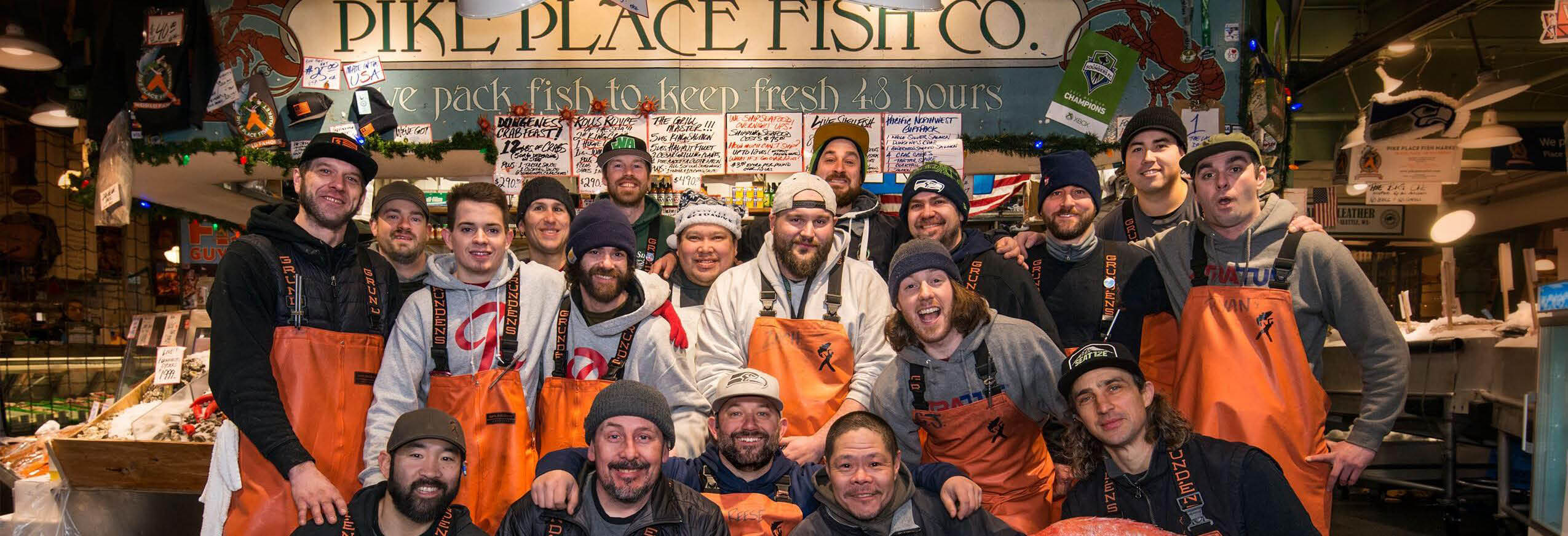 Pike Place Fish Market main banner image - Seattle, WA