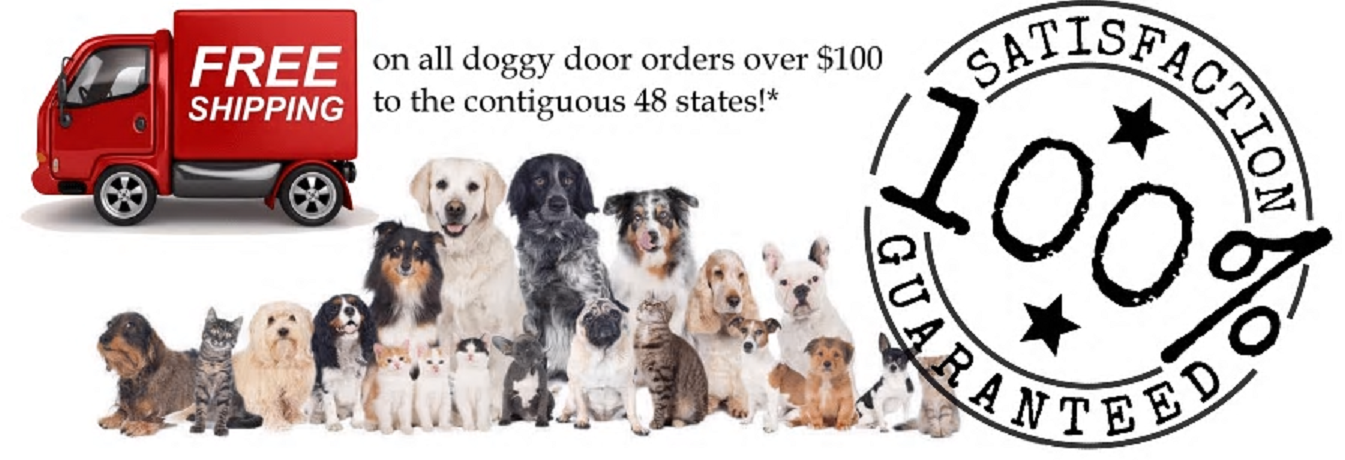 The Pet Door Store main banner image - doggy doors - doggy door companies