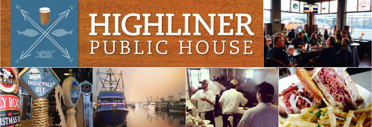 Highliner Public House in Seattle, WA banner