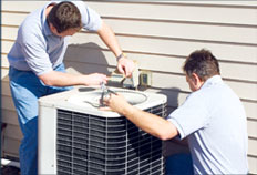 Ace & A professionals install new HVAC systems