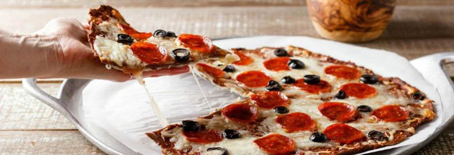 Bari Pizzeria thin crust pizza west allis, WI Banner