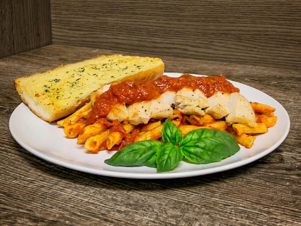 Bari Pizzeria of West Allis, WI Italian Chicken Dish