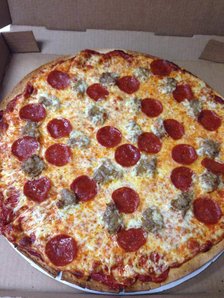 take out or dine in hot pizza near west allis wi