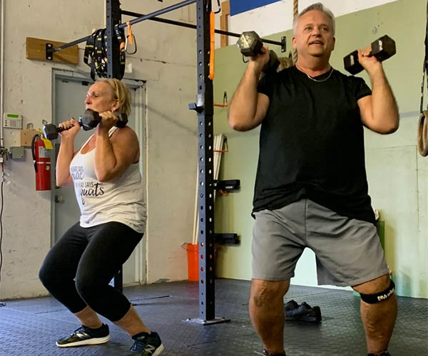 Weight lifting for toning muscles