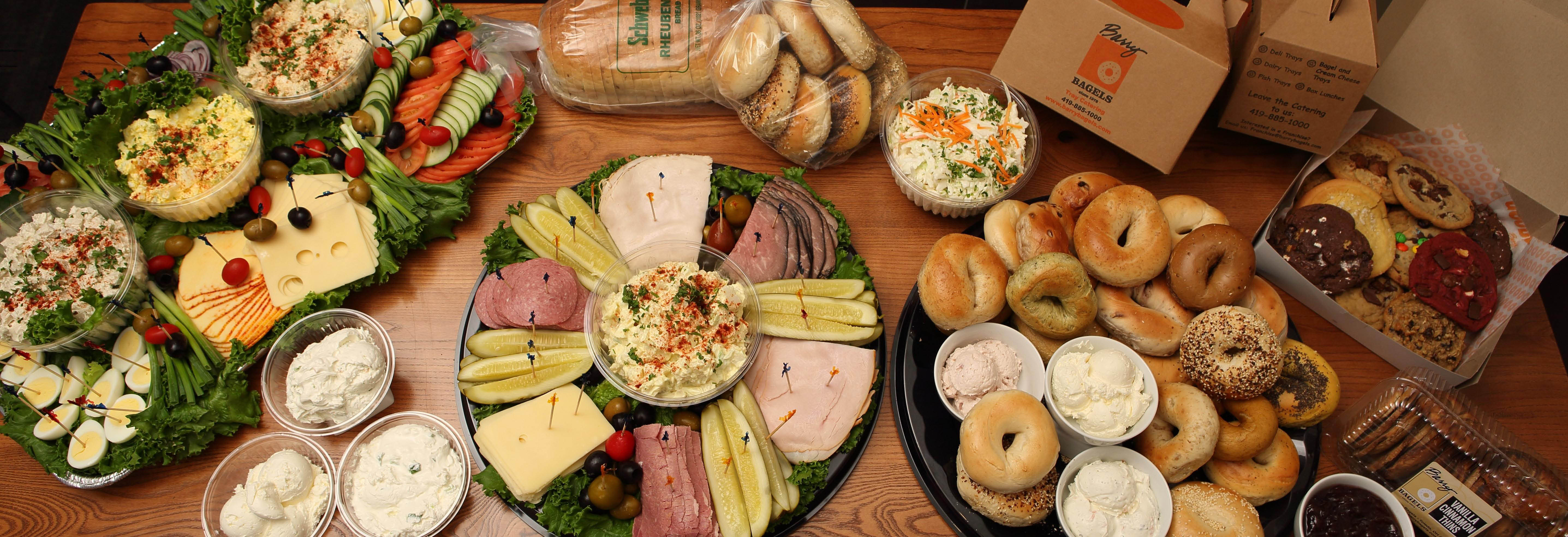catering bagels sandwiches soup salad eggels desserts fresh coffee