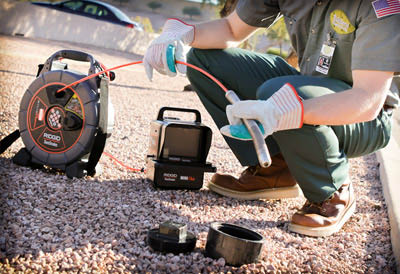 State-of-the-art video equipment to pinpoint trouble spots in pipes in Petaluma, CA