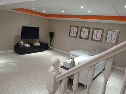 Remodel USA services Virginia and Maryland; basement remodeling