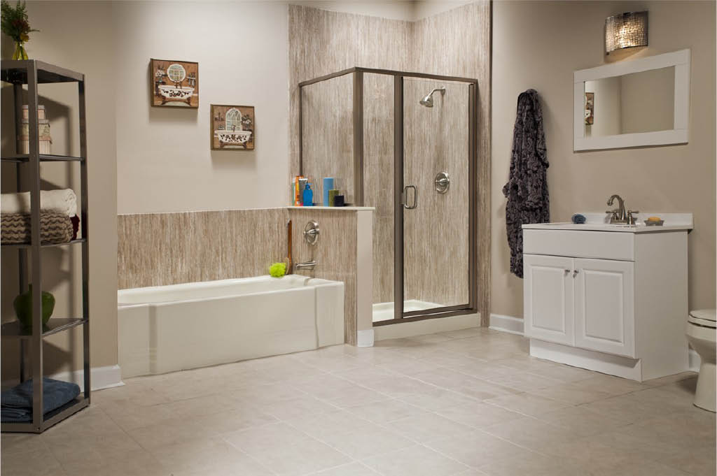 Bath Planet Greenfield, WI Bathroom Remodel with Separate Tub and Shower