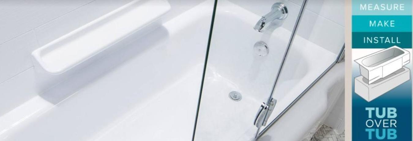 tub over tub install
