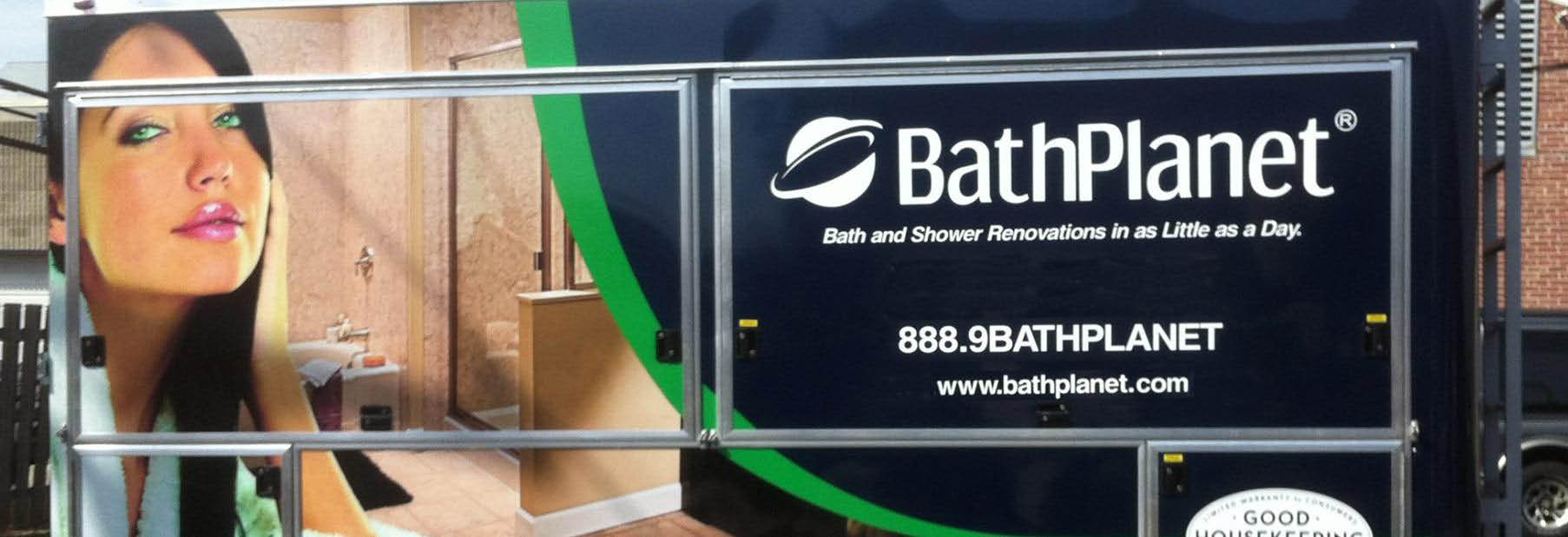 Bath Planet Milwaukee, WI banner specializing in Bath to shower conversion.