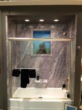 Shower 'before' Bath System installation