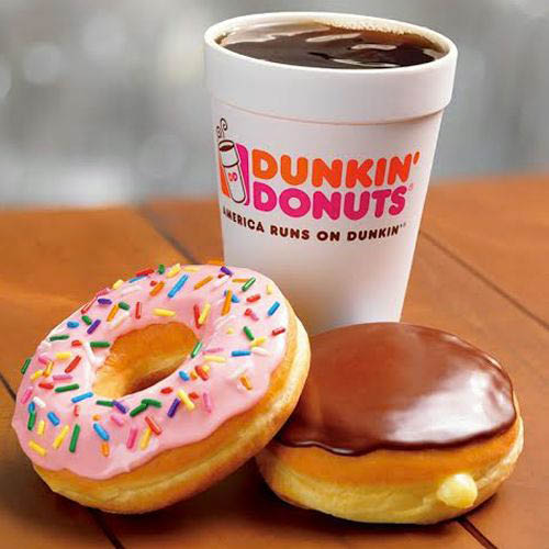 Famous Dunkin' Donuts and hot coffee in Carrollton, TX