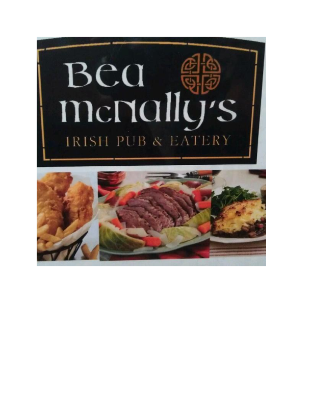Delicious Food at Bea McNally's Irish Pub & Eatery in Hackettstown NJ