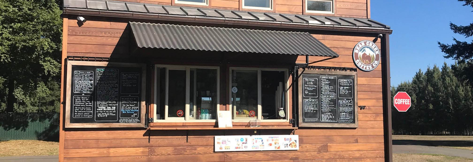 Bear Creek Coffee Co. main banner image - Redmond, WA - Marymoor Park