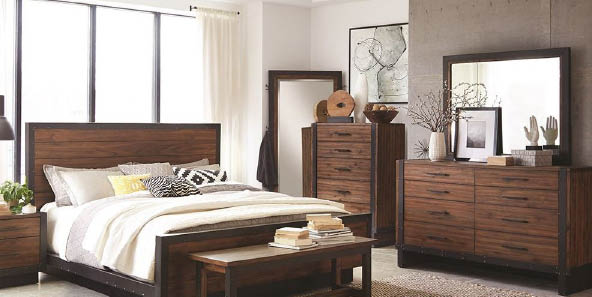 Gorgeous bedroom furniture set from Strands Home Furnishings in Monroe, WA - furniture stores in Monroe - furniture stores near me