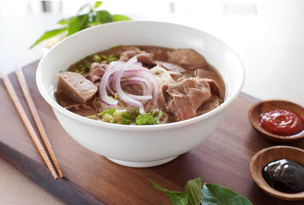 Beef Pho at Sabores is one of many Vietnamese dishes available.
