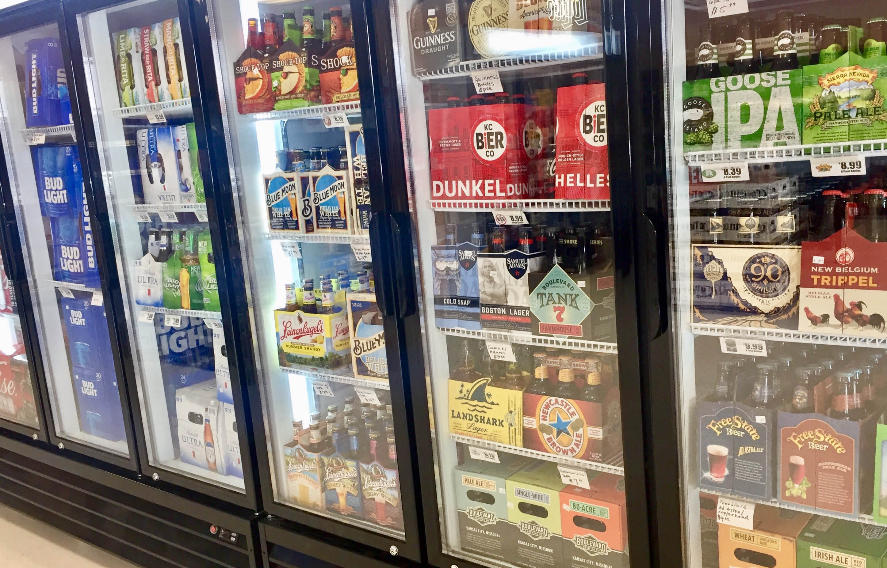 Chang Liquor Store - Beer Selection