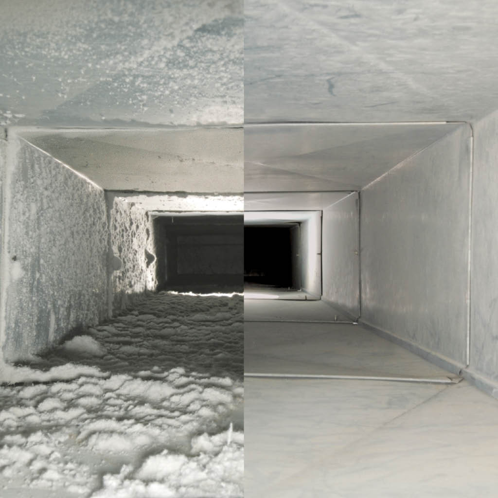 Fuzzy Wuzzy Air Duct Cleaning before and after air duct cleaning photos - Fuzzy Wuzzy Rug Cleaning Co - Western Washington