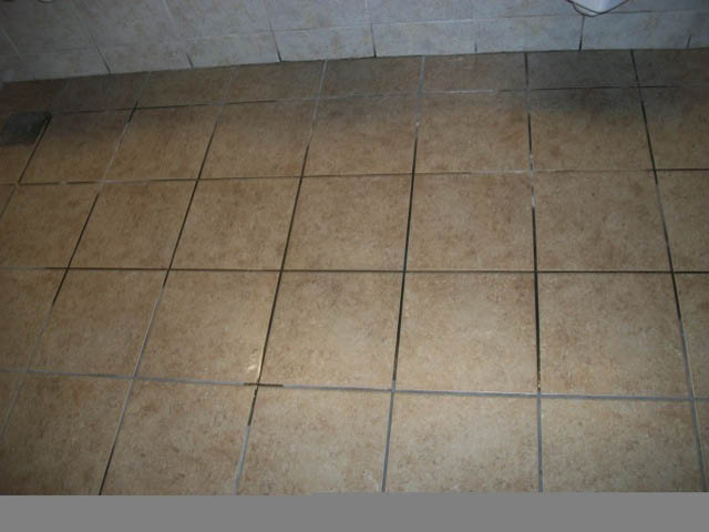 Before Tile & Grout Cleaning by MARBLELIFE