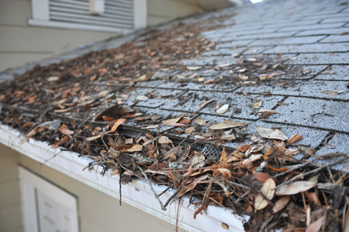 Gutter Helmet gutter cleaning in Louisville KY blends your gutters with your roof line