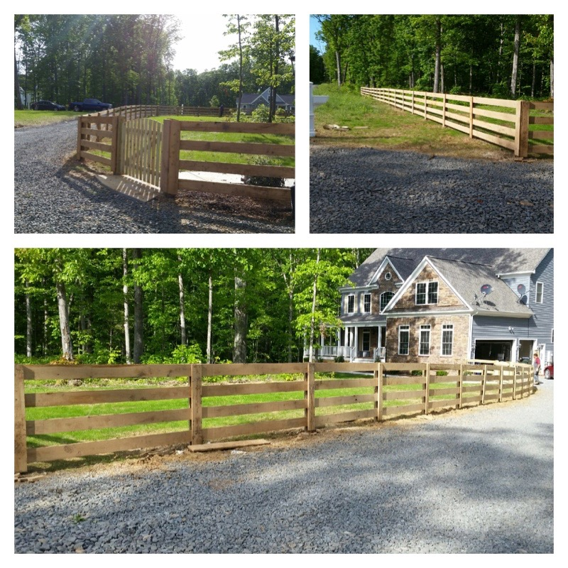 fenced in yard; beitzell fence of northern virginia and maryland