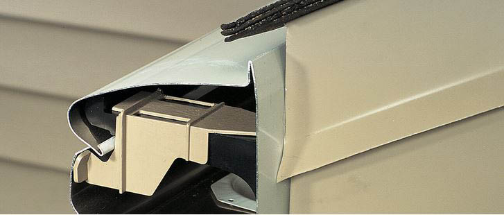 Most debris is prevented from entering the gutter system by a fully integrated curved hood that keeps out the majority of leaves, twigs, and other items, but permits water to fall in.