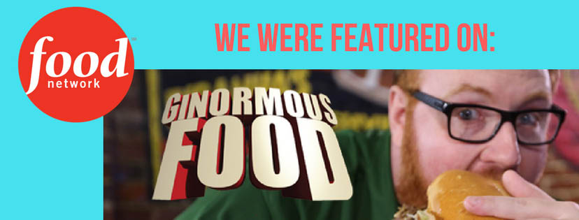 Find out why our food was featured on Food Network