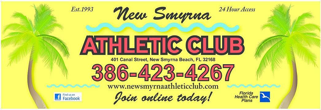 New Smyrna Athletic Club Banner ad