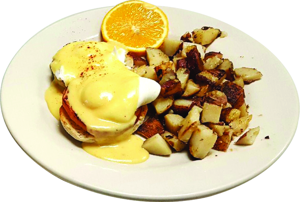 Eggs Benedict Hollandaise sauce Lunch near me Restaurant near me Dunedin Food near me Clearwater