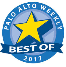 2017 Best Of Palo Alto Weekly Award logo