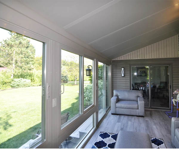 Sun room offers more interior space
